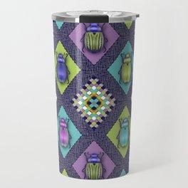 Scarabs Quilt Travel Mug