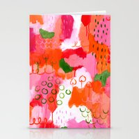 popsicle Stationery Cards featuring Popsicle by Portia Monberg