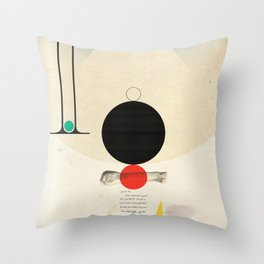 Oneonone Throw Pillow