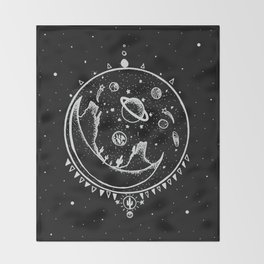 DESERT MOON SHELTER Throw Blanket