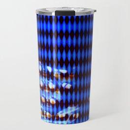 Blue punk Travel Mug
