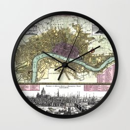 London-England-1740 Wall Clock