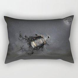 Overload the moon! Rectangular Pillow
