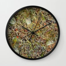 Alien Collective Wall Clock