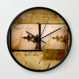 Ephemera 1 Wall Clock