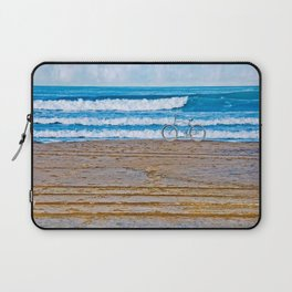 Beach Bike Laptop Sleeve