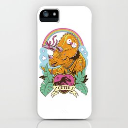 Jurassic Cutie 2.0 iPhone Case