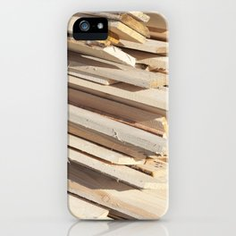 Board building materials iPhone Case