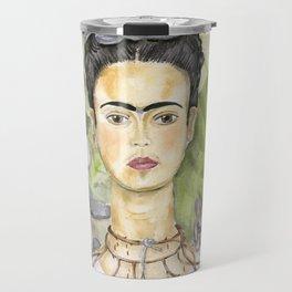 Frida en Australia Travel Mug