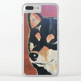 Kuma the Shiba Clear iPhone Case