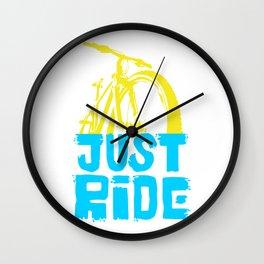 Just Ride 0.1 Wall Clock