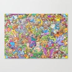 Creatures festival Canvas Print
