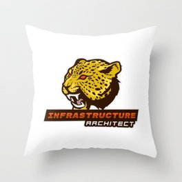 Clever Infrastructure Architect Throw Pillow