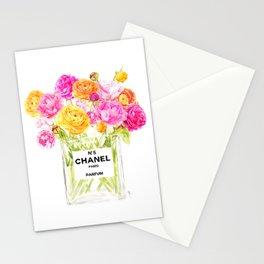 FLORAL No.5 PERFUME Stationery Cards