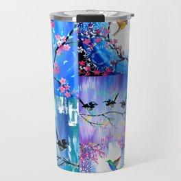 Purples and Blues Travel Mug