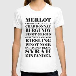 Wine Celebration - White T-shirt