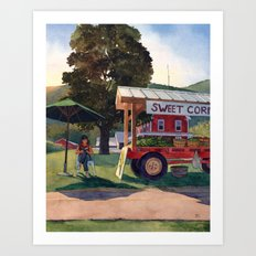 Farm Fresh Art Print
