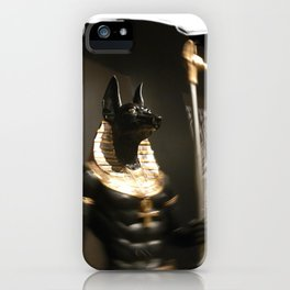 Anubis Egyptian God of Darkness (Photo by ACCI) iPhone Case