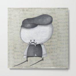 The Crumb Portrait 1 Metal Print