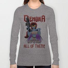 Demona Propganda Long Sleeve T-shirt