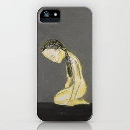 kneeling iPhone Case