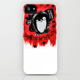 Death Penguin iPhone Case