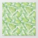 Tropical Branches Pattern 02 by serigraphonart