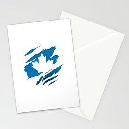 Canadian Blue Flag Pride Stationery Cards