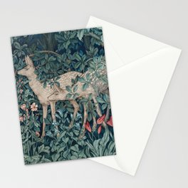 William Morris Forest Deer Greenery Tapestry Stationery Cards
