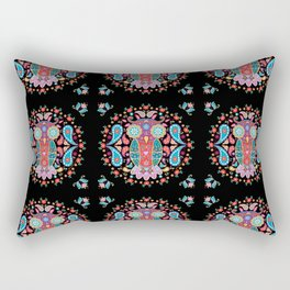 Owl Blooms with Love Rectangular Pillow