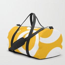 Circles Dots Bubbles :: Mango Duffle Bag