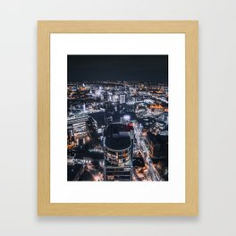Welcome to leeds Framed Art Print