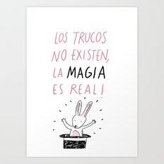 La magia Art Print