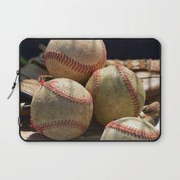 Baseballs and Glove Laptop Sleeve