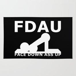 FDAU - Face Down Ass Up Rug