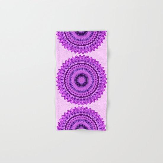 Magic Mandala Hand & Bath Towel