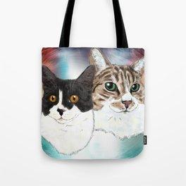 Lily and Sasha Tote Bag