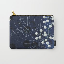 Retro Mathatomically Speaking Carry-All Pouch