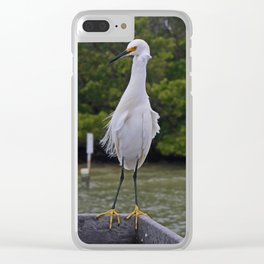 Proud Determination Clear iPhone Case