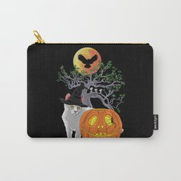 Cat Halloween Boys Carry-All Pouch