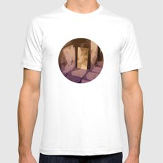 MIRROR MIRROR Mens Fitted Tee White SMALL