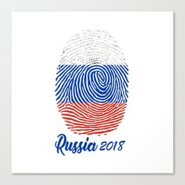 FIFA WORLD CUP 2018 - RUSSIA Canvas Print