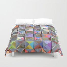 Abstract Composition 330 Duvet Cover