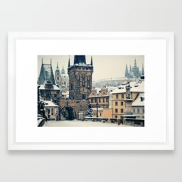 Karlův Most , Prague Framed Art Print