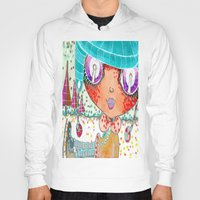 murakami Hoodies featuring Blythe Doll from Dimension 6 by LeLu'sToYmaker