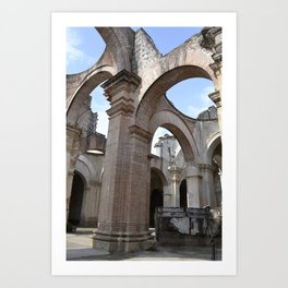 Antigua Guatemala Ruins Art Print