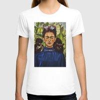 frida T-shirts featuring FRIDA by NOXBIL