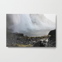 The fall Metal Print
