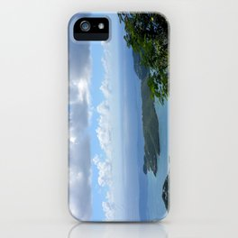 Over the Clouds in St Thomas iPhone Case