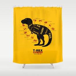 Dino Deli Shower Curtain
